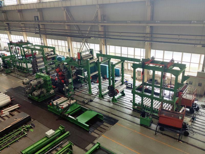 大橡塑为客户研制的多款橡机产品顺利完成验货和发运工作