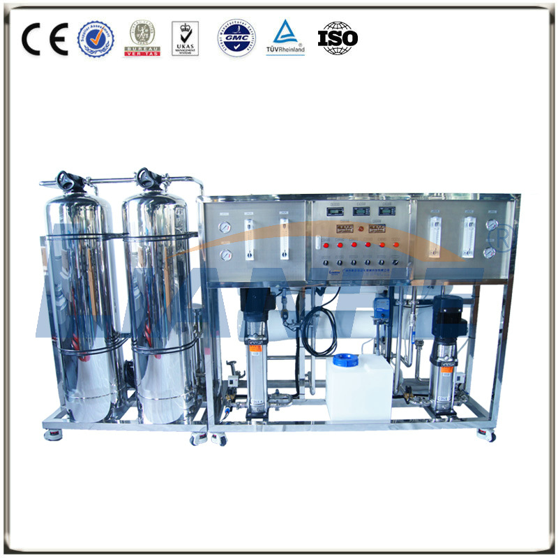 1000L/H Double-stage Reverse Osmosis Water Treatment