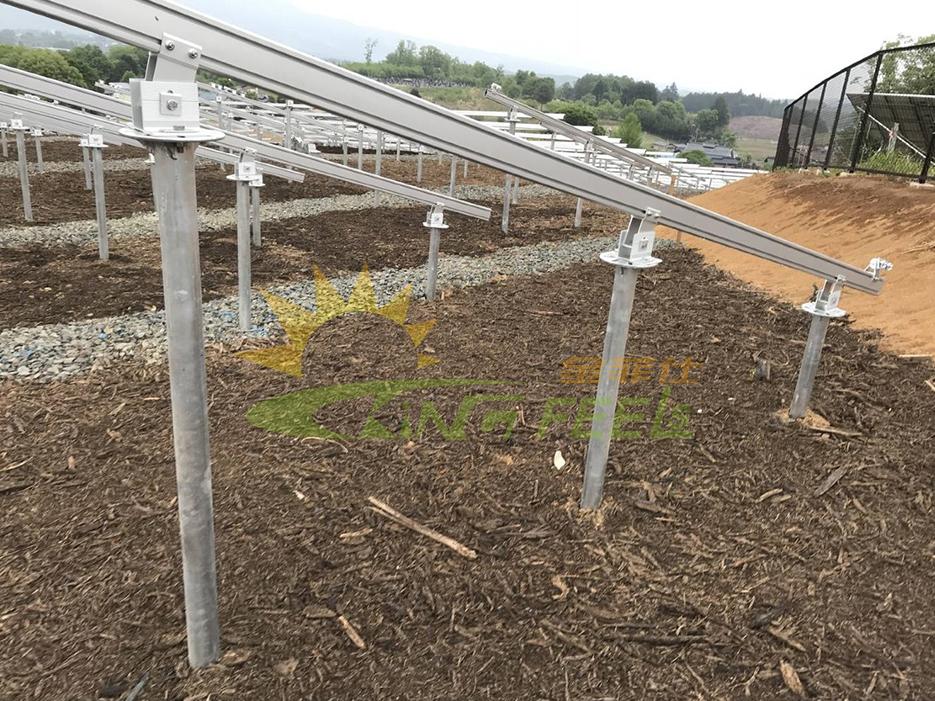 地面太陽能支架螺旋樁地樁