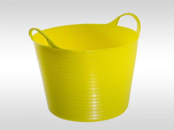 25L園林桶/花園桶/塑料桶/PE桶/洗衣桶/家用塑料水桶/洗車桶