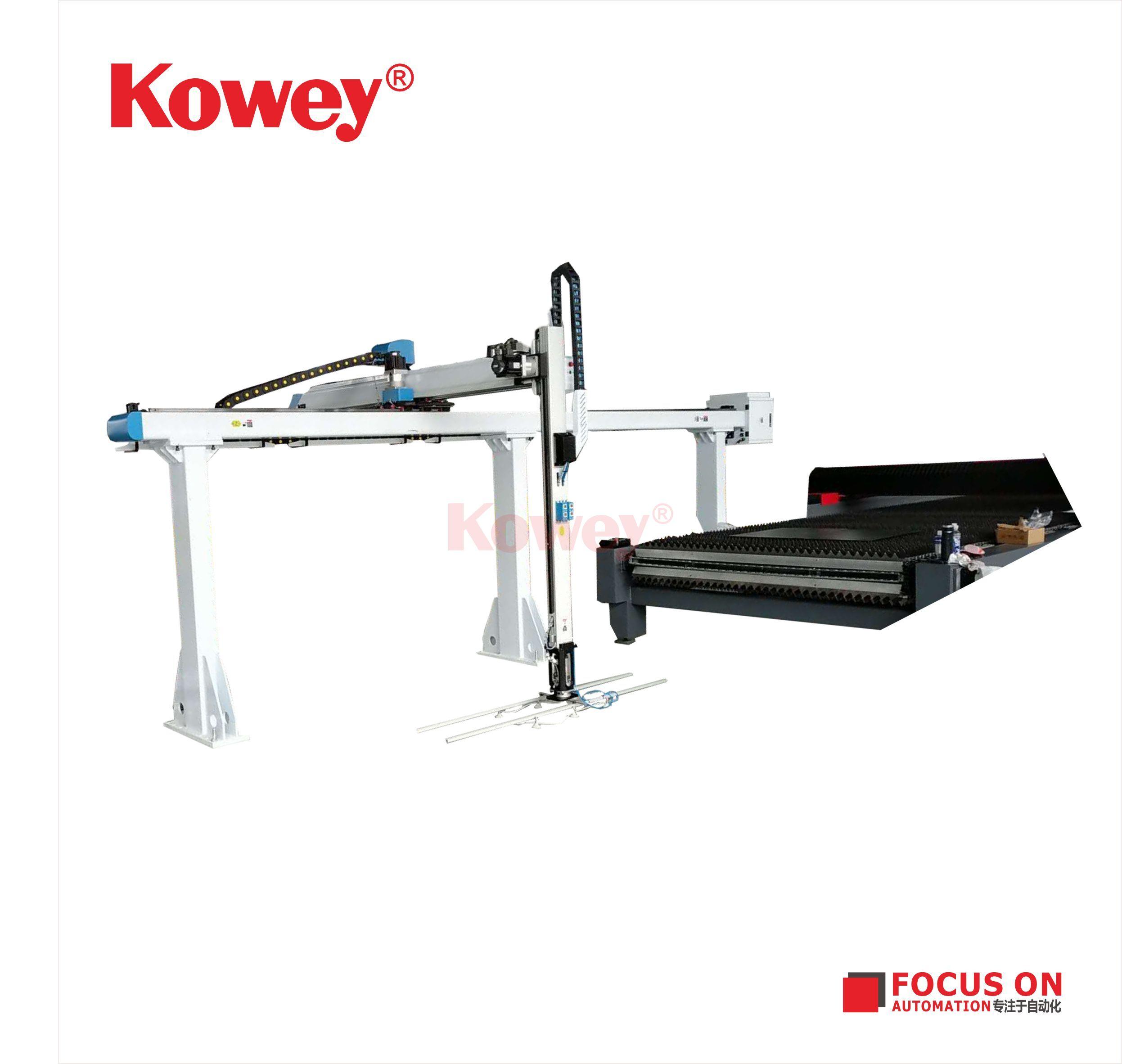 塑料生產非標自動化-定制非標自動化產品-注塑自動化-直角坐標機械手應用