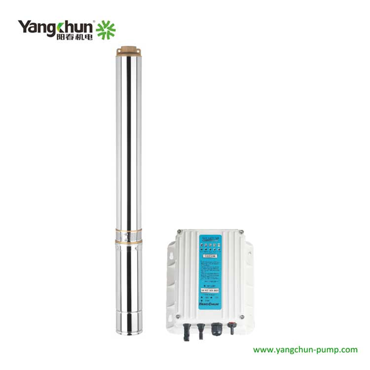 4TY太陽能深井潛水泵