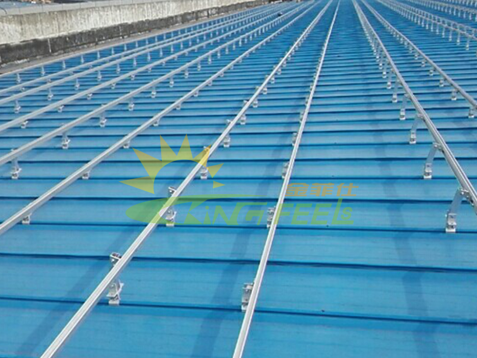 太陽能支架 鋁合金 太陽能配件 江蘇太倉377.63kw