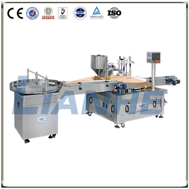 Turntable Automatic Filling Machine