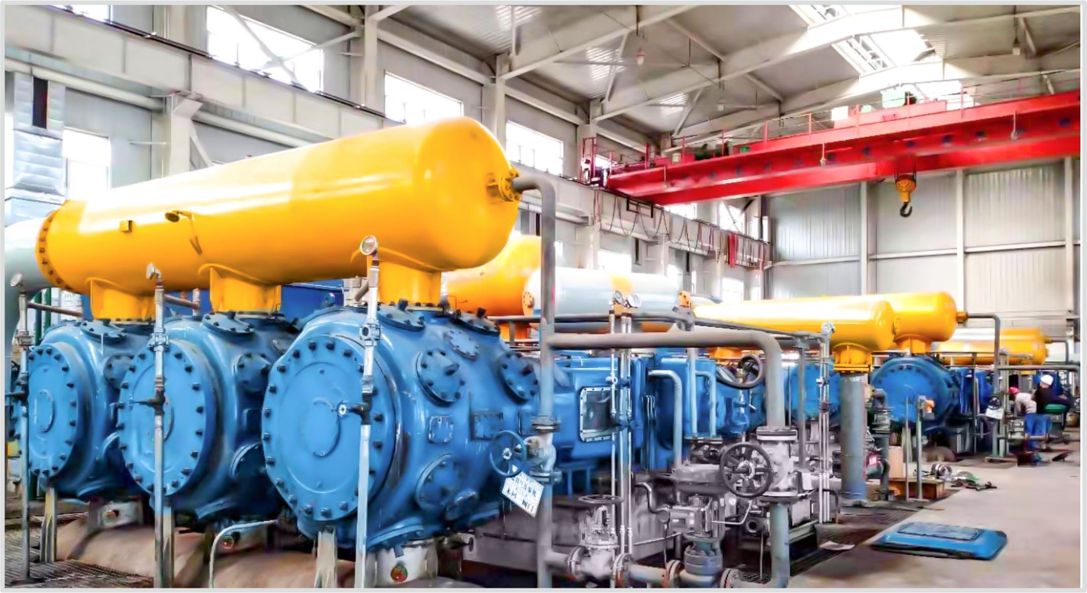 石油化工、煤化工等領域用壓縮機組
