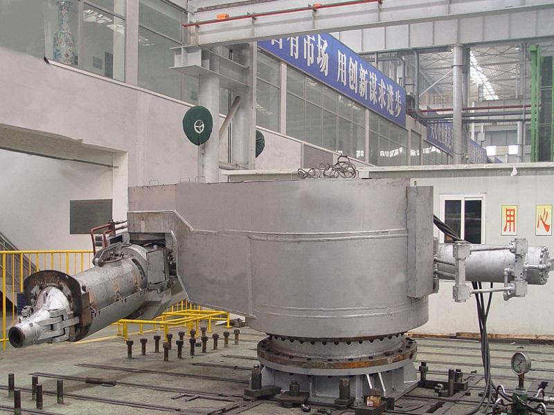 西門子-奧鋼聯泥炮開鐵口機