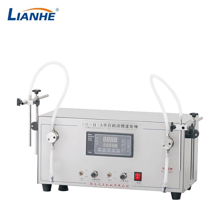 桌面型双头水剂灌装机
