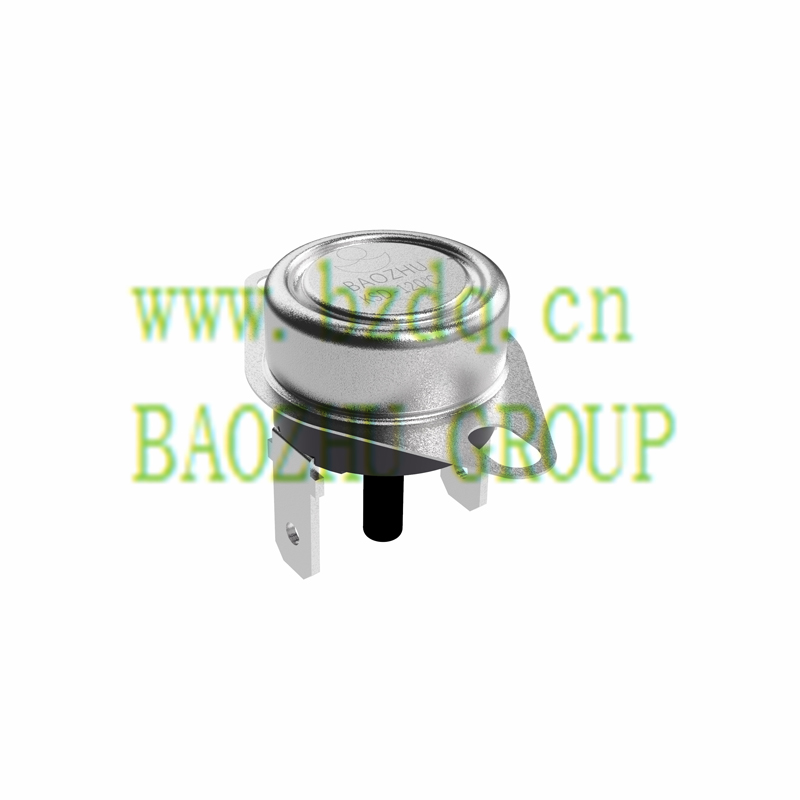 KSD固定式安裝板-手動復位突調式溫控器