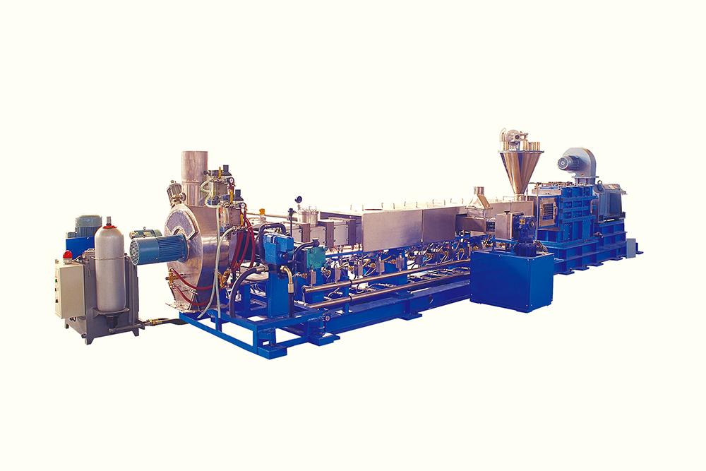 双螺杆塑料混炼挤出(造粒)机
