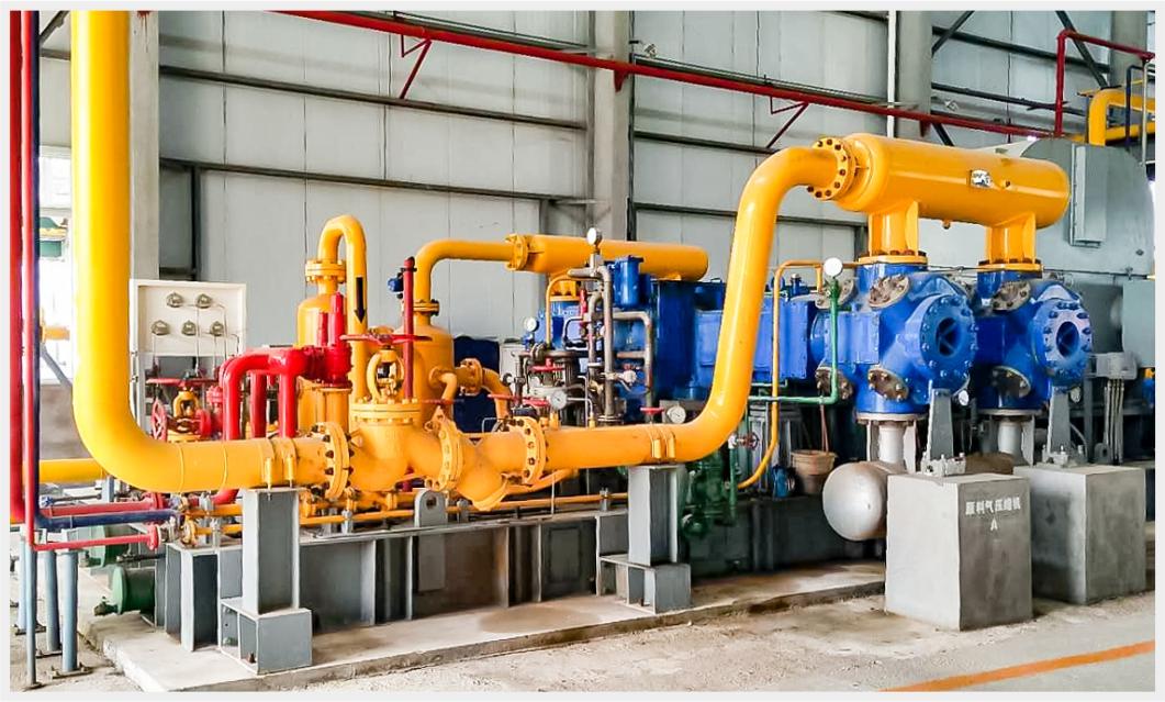 天然氣液化裝置壓縮機組-原料氣壓縮機組
