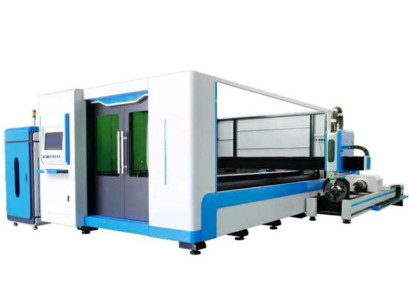 交換臺數控板管兩用切割光纖激光切割機