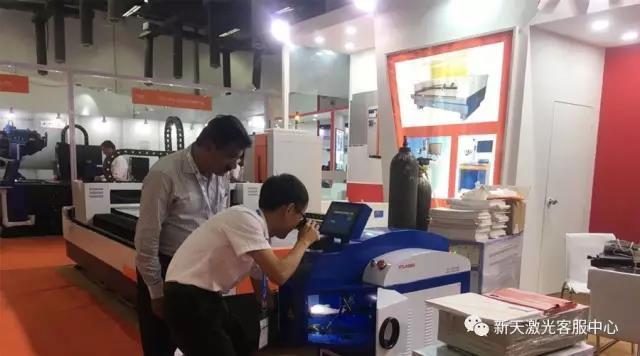 新天激光 | 印度激光技术展大显身手,海外本地化服务持续升级