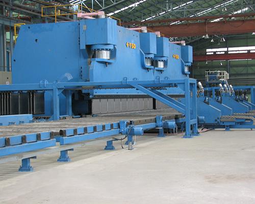 16000mm剪折生产线