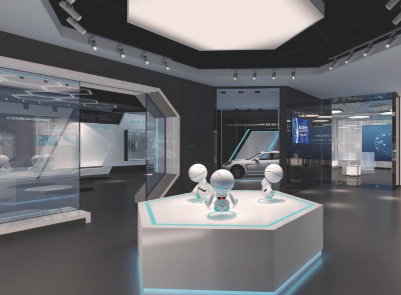 重慶石墨烯展示中心設計及布展