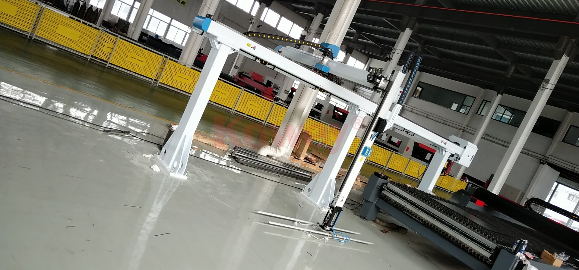 大型激光機自動化應用7