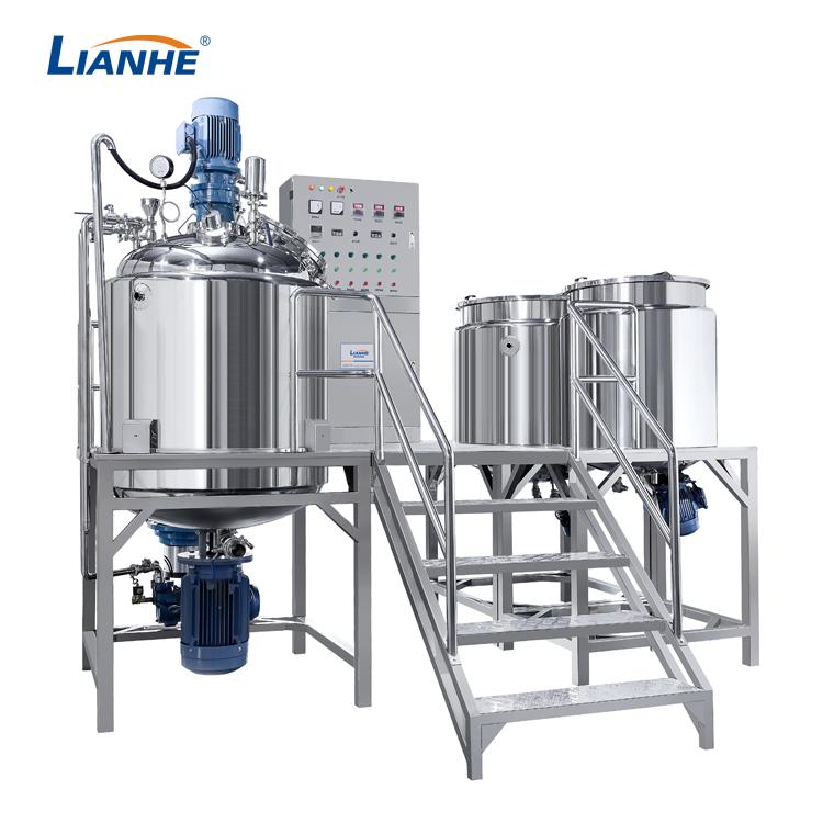 VME-500L Fixed Type Vacuum Emulsifying mixer
