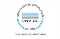 DNV-GL ISO9001:2015管理體系認證證書