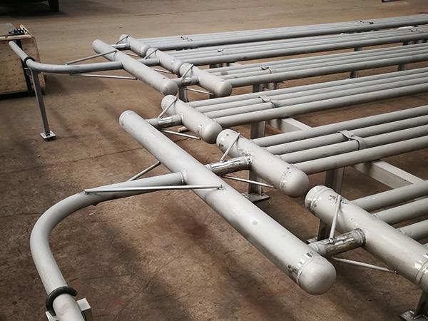 不锈钢管道加热装置
