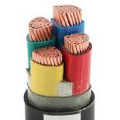 4、钢带铠装铜芯聚氯乙烯绝缘低烟无卤阻燃护套电力电缆