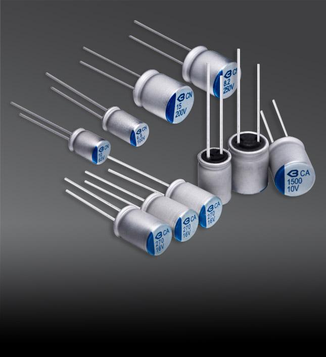 導電高分子固態電容器