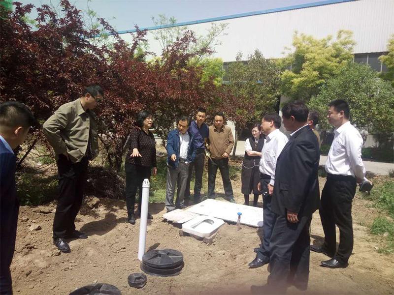 山東青州農村旱廁示范工程