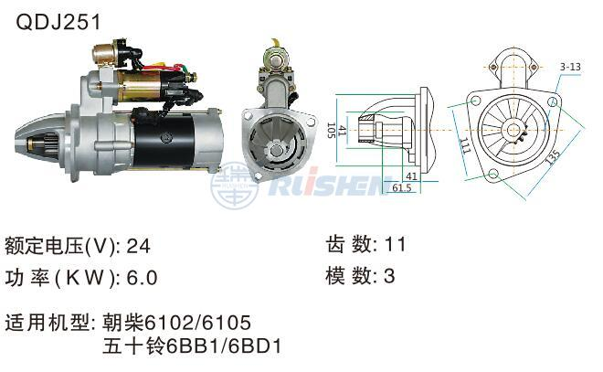 型號:QDJ251