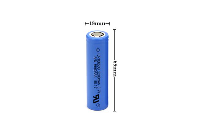 BFN热销电池18650 3.7V 2200mAh