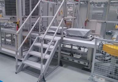 铝型材自动化设备框架及防护框架