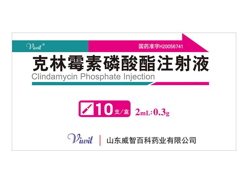 克林霉素磷酸酯注射液 2ml:0.3g