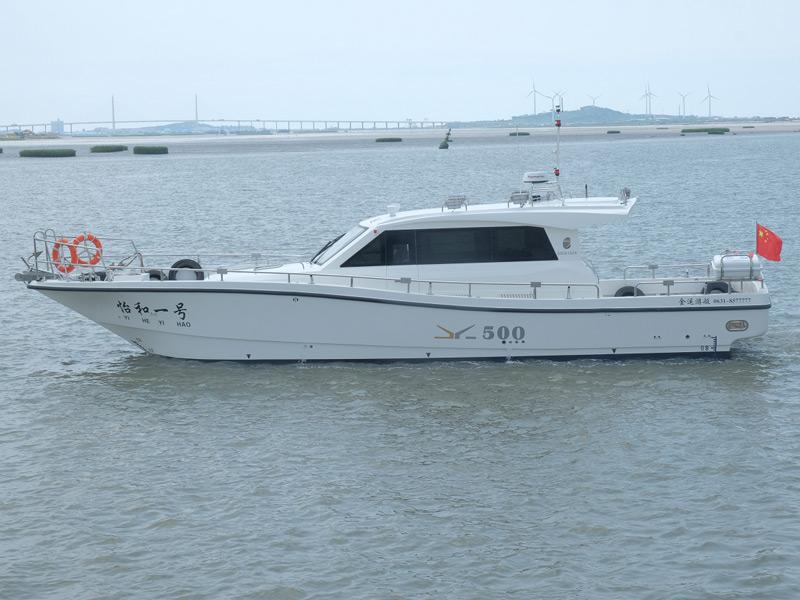 JY500高速遠海游釣艇