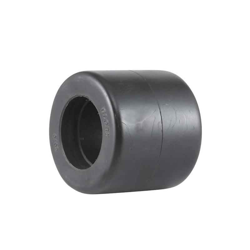 ET1系列- 高強度尼龍叉車輪(黑色)(平邊)