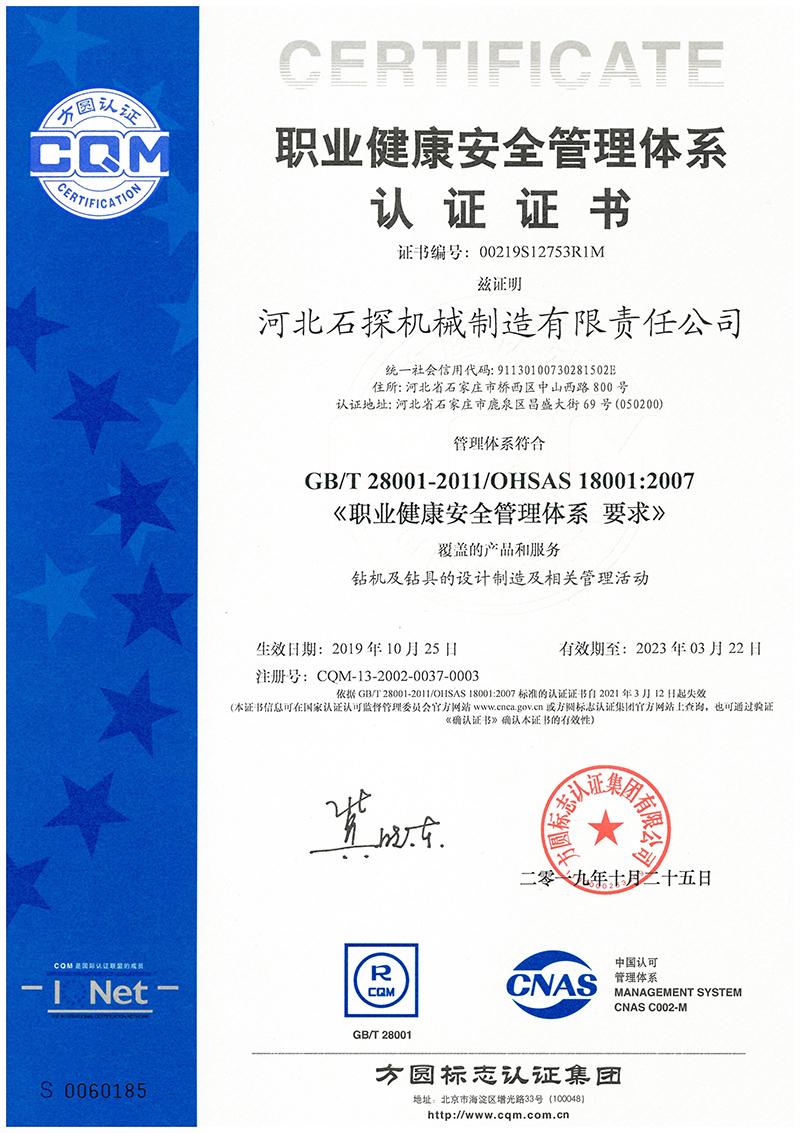 9.職業健康體系2019中文