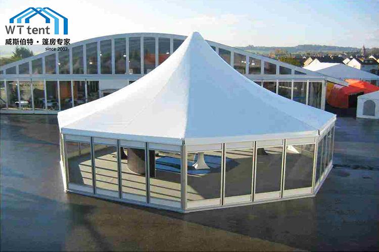 蘇州威斯伯特篷房八邊形篷房帳篷廠家定制帳篷