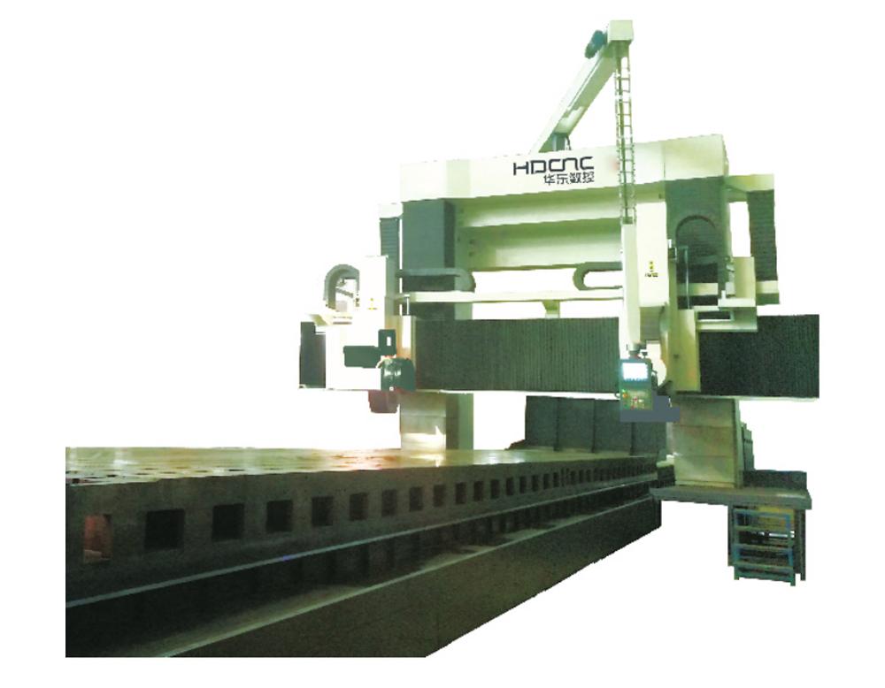 MKW52系列动梁式数控龙门导轨磨床