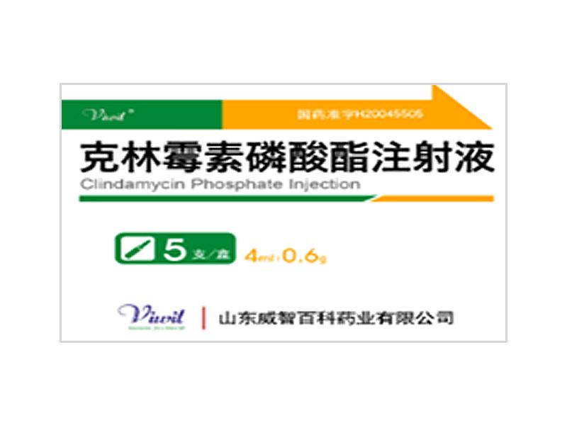 克林霉素磷酸酯注射液 4ml:0.6g
