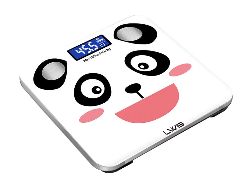 体脂秤熊猫款
