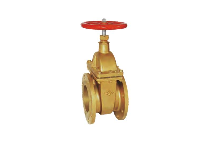 黃銅法蘭閘閥 45W16T/10T