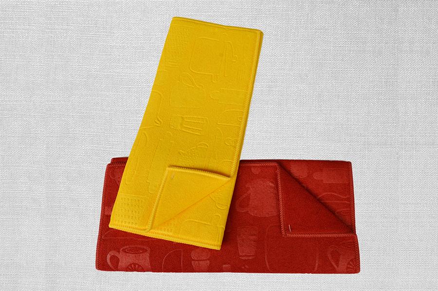 素色压花吸水垫