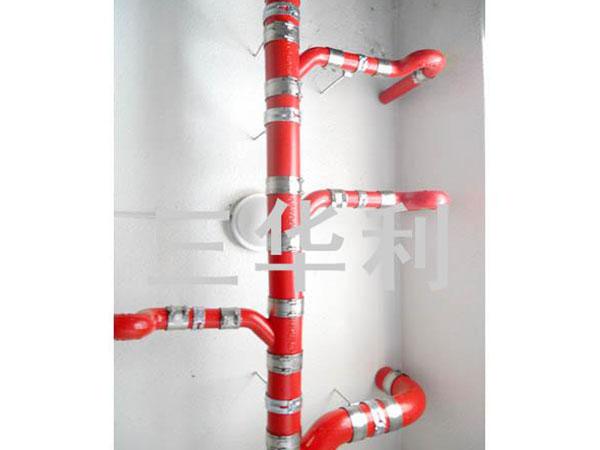 W型卡箍管件排水系統