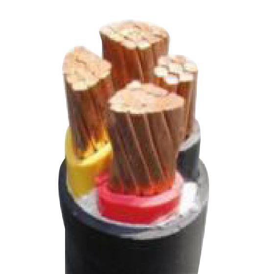 3、铜芯聚氯乙烯绝缘低烟无卤阻燃护套电力电缆