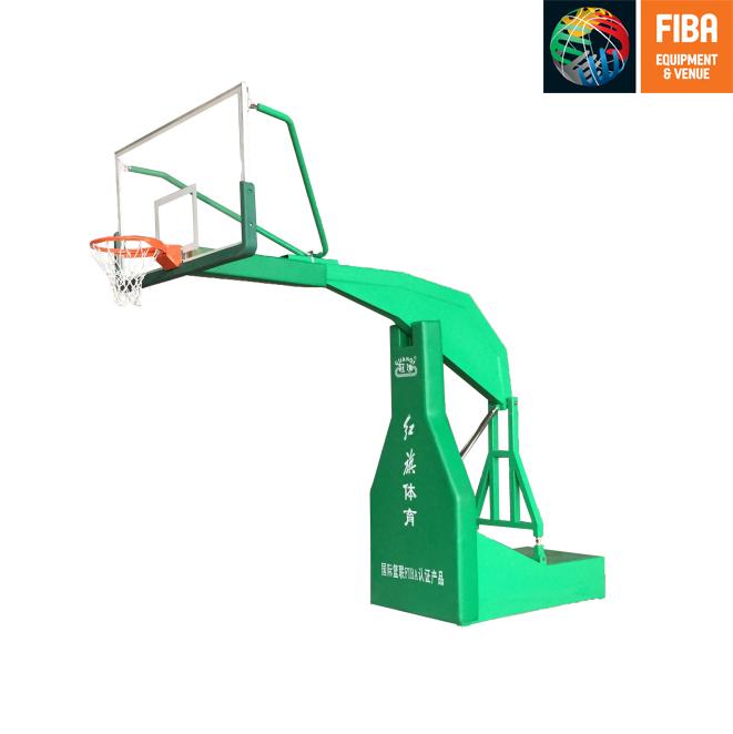HQ-F1005 平箱移動籃球架 FIBA認證