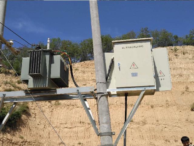 陜北 配變低壓側安裝低壓無功補償裝置60kvar
