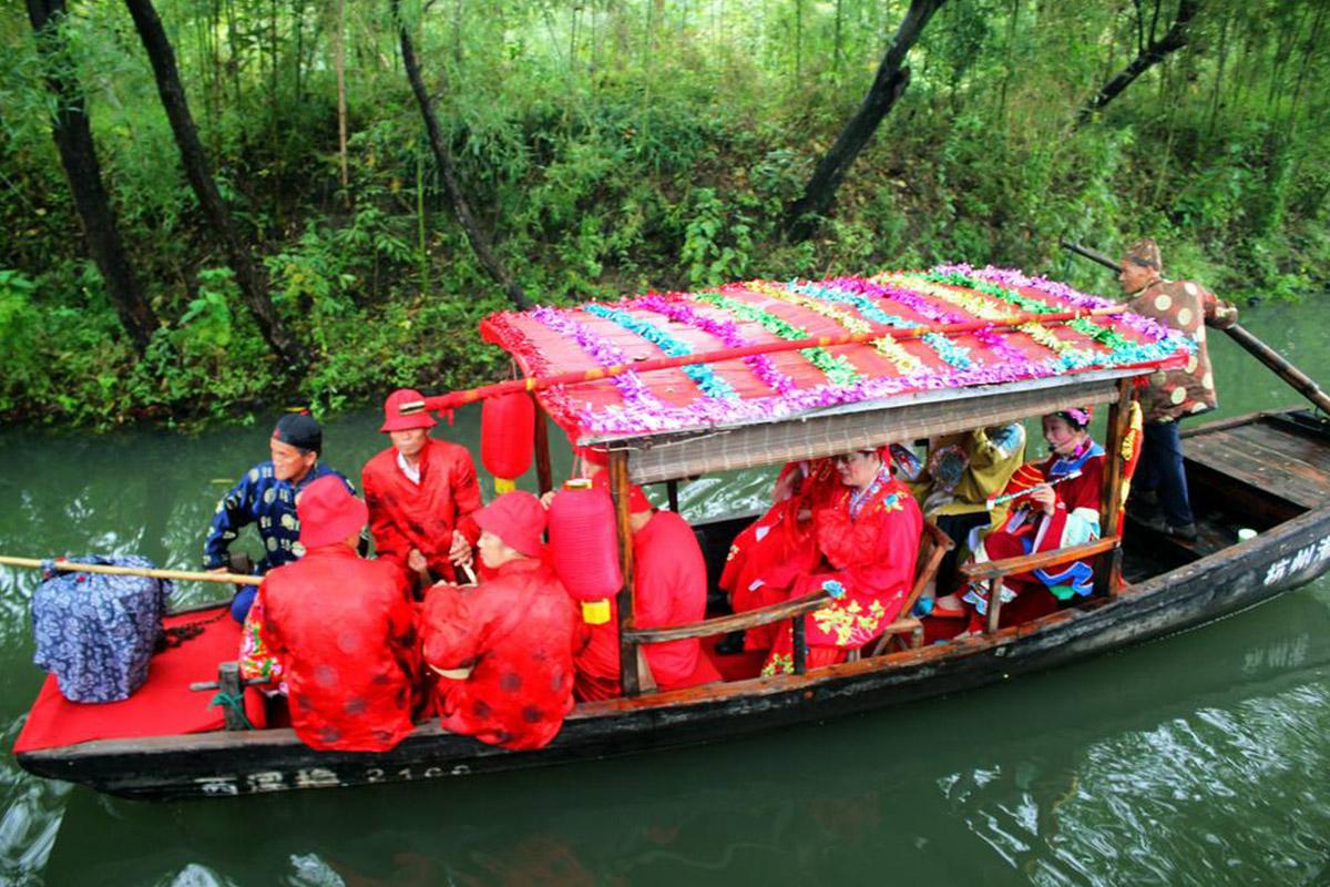 湿地特色民俗婚礼