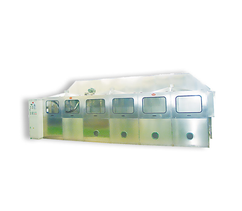 JF485-鋼片清洗磷化浸膠固化線