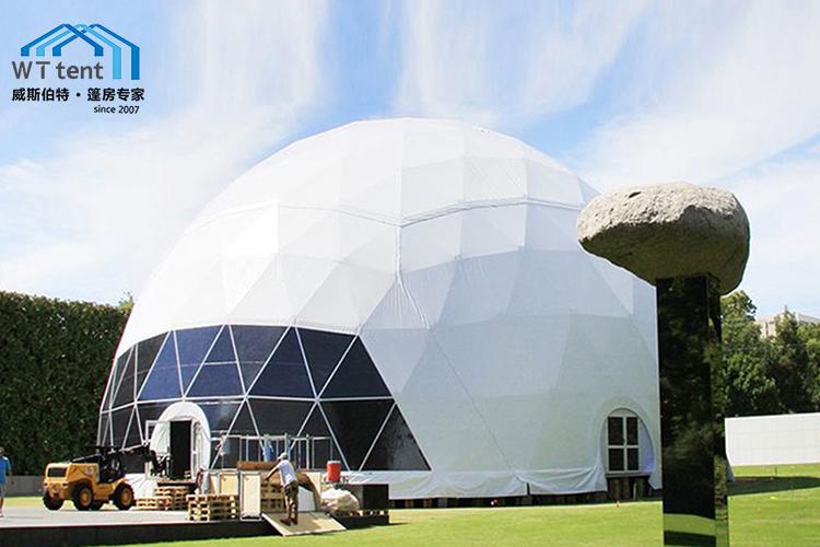 蘇州威斯伯特篷房大型半透明球型篷房帳篷定制帳篷廠家