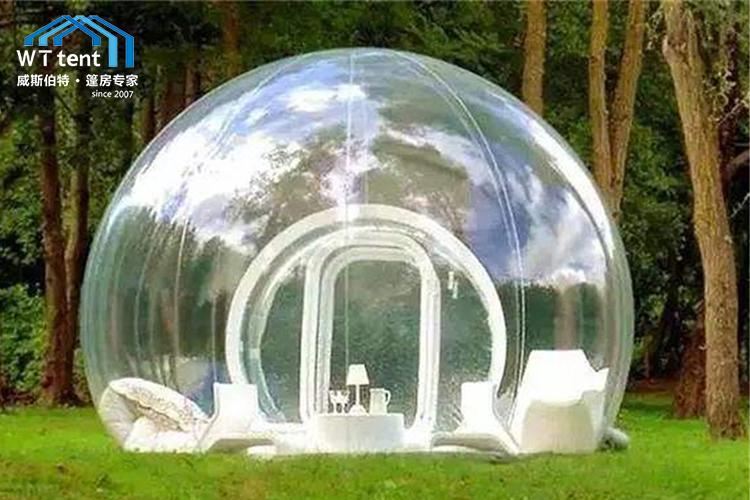 蘇州威斯伯特小型透明球形篷房帳篷廠家定制帳篷酒店帳篷