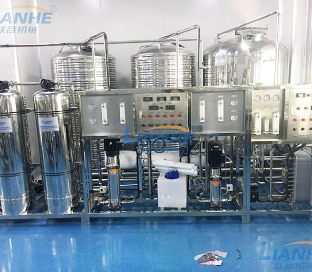 【广州联合机械】客户,日化、护肤产品生产设备、生产线,现场实拍。
