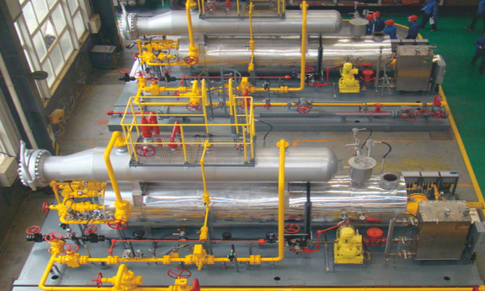20萬方井口一體化集成裝置