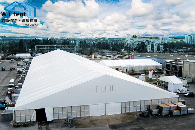 威斯伯特L40鋁合金大型倉儲篷房PVC戶外工業帳篷