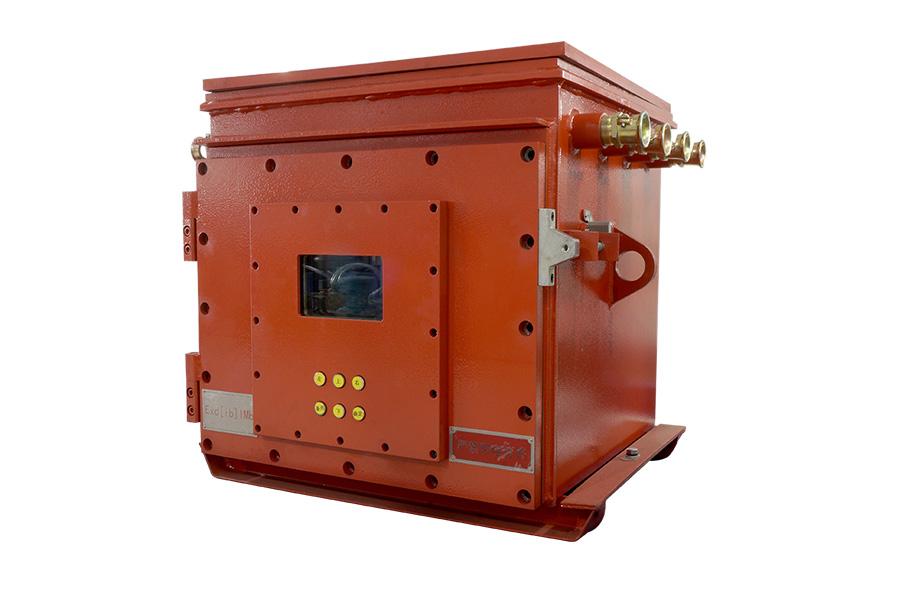 KJK660礦用隔爆兼本安型光纖測溫控制柜2